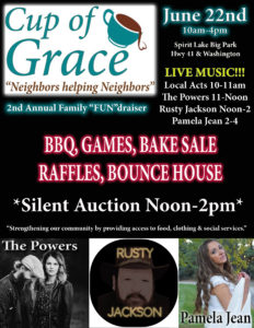 Cup of Grace fundraiser