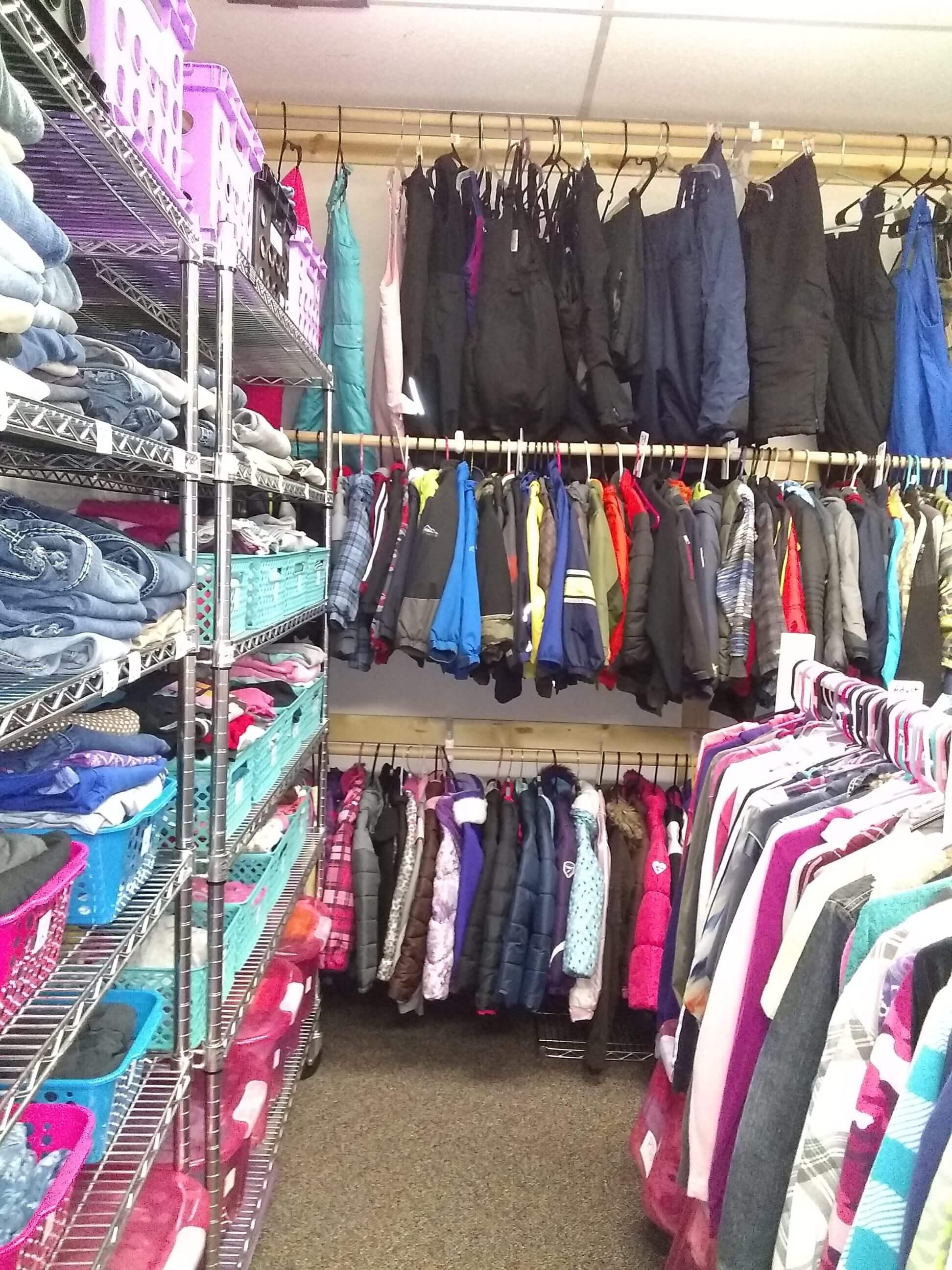 John Brown Elementary Clothing Closet