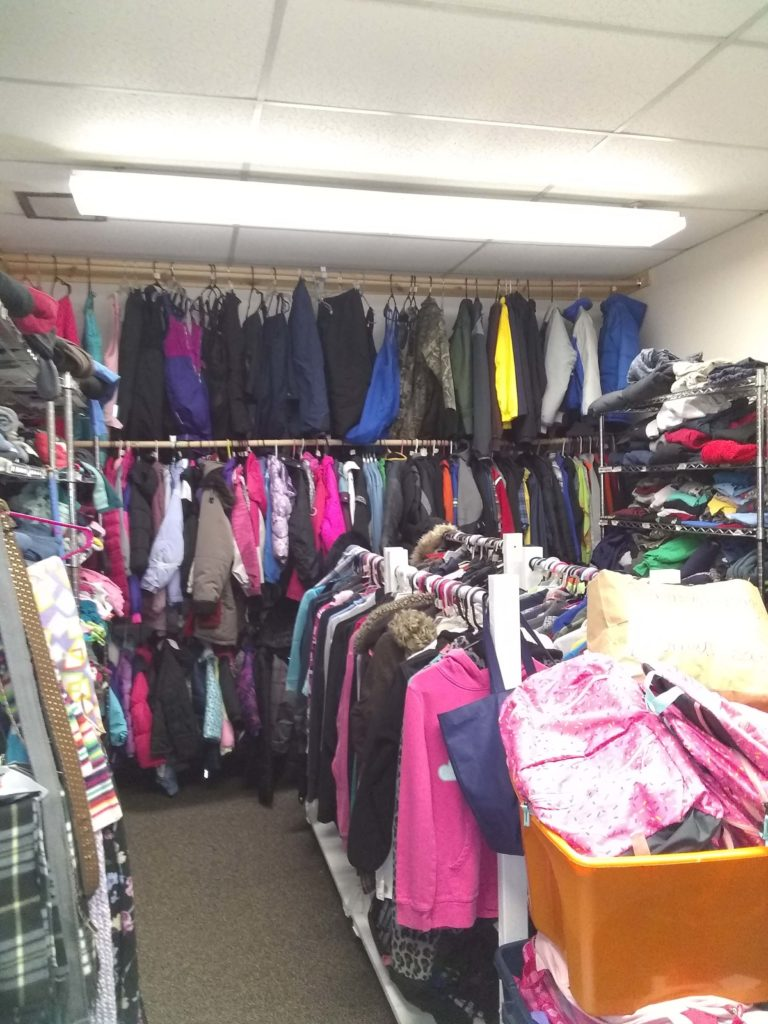 John Brown Elementary School's Clothing Closet